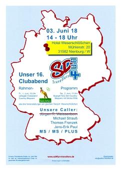 2018-06-03 Clubabend der SD4Fun Travellers in Nienburg©Country Skippers - Square Dance Club Wietzen