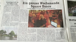 2018-05-16 Blickpunkt Nienburg Bericht © Country Skippers - Square Dance Club Wietzen