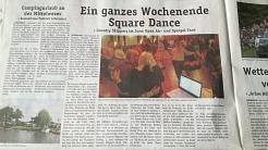 2018-05-16 Blickpunkt Nienburg Bericht©Country Skippers - Square Dance Club Wietzen
