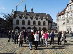 2019-10-13 Freizeitwochenende Square Dance auf dem Marktplatz in Goslar©Country Skippers - Square Dance Club Wietzen