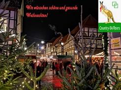 2020 Weihnachtsgrüße Country Skippers©Country Skippers - Square Dance Club Wietzen