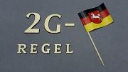 2G-Regel Niedersachsenfahne