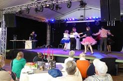 Auftritt Gewerbeschau Marklohe 2015©Country Skippers - Square Dance Club Wietzen