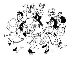 Comic Square Dance