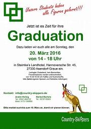 Flyer Graduation 20.03.2016