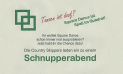 Schnupperabend © Country Skippers - Square Dance Club Wietzen